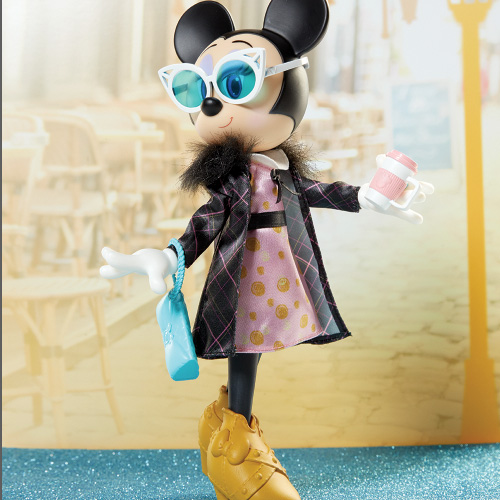 Disney Minnie Mouse Sweet Latte Fashion Doll