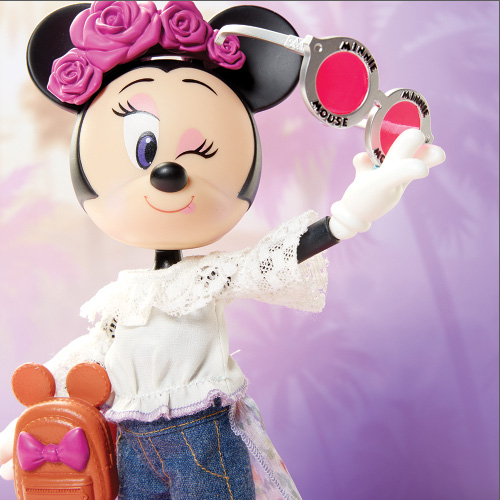 Disney Minnie Mouse Floral Festival Fashion Doll