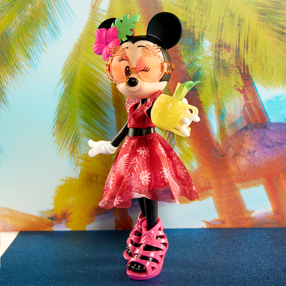 Disney Minnie Mouse Island Icon Fashion Doll