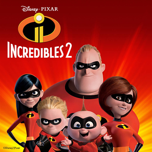 Disney Incredibles 2 Brand Page
