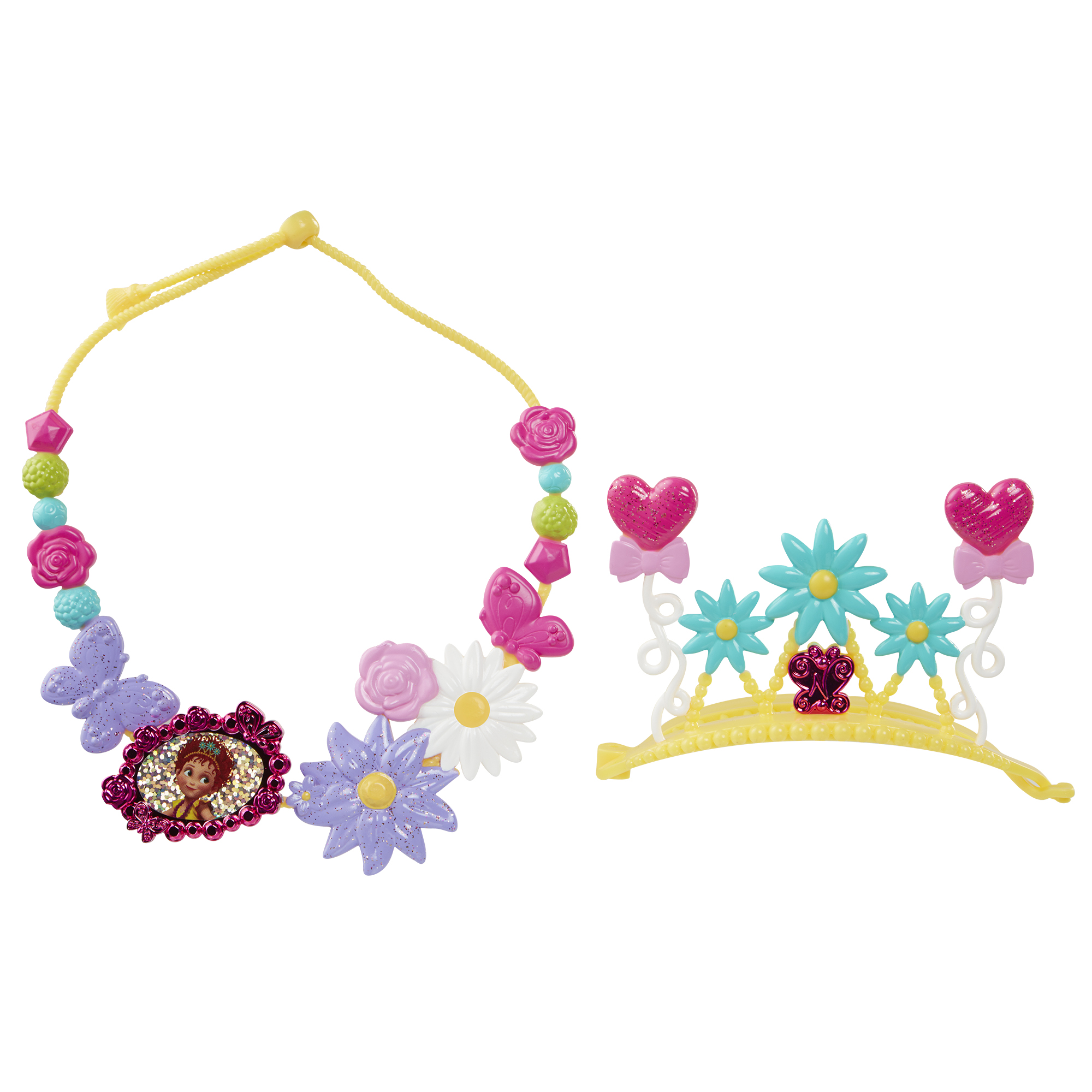 Fancy Tiara and Necklace Set Disney