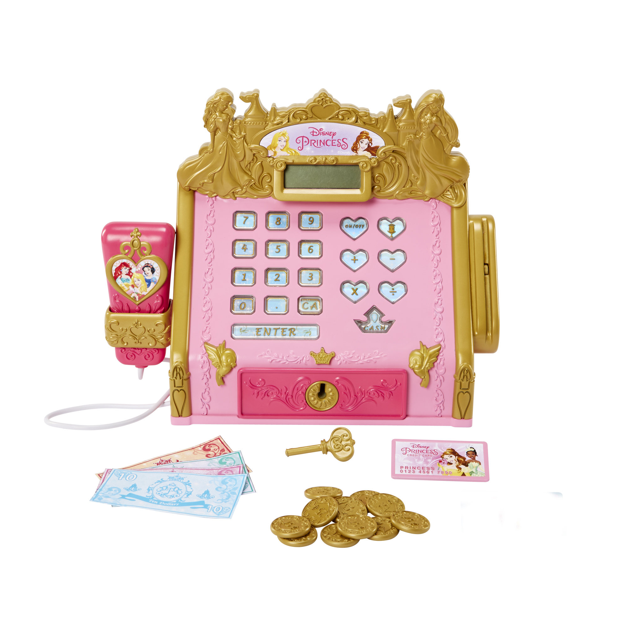 Royal Boutique Cash Register Disney Princess