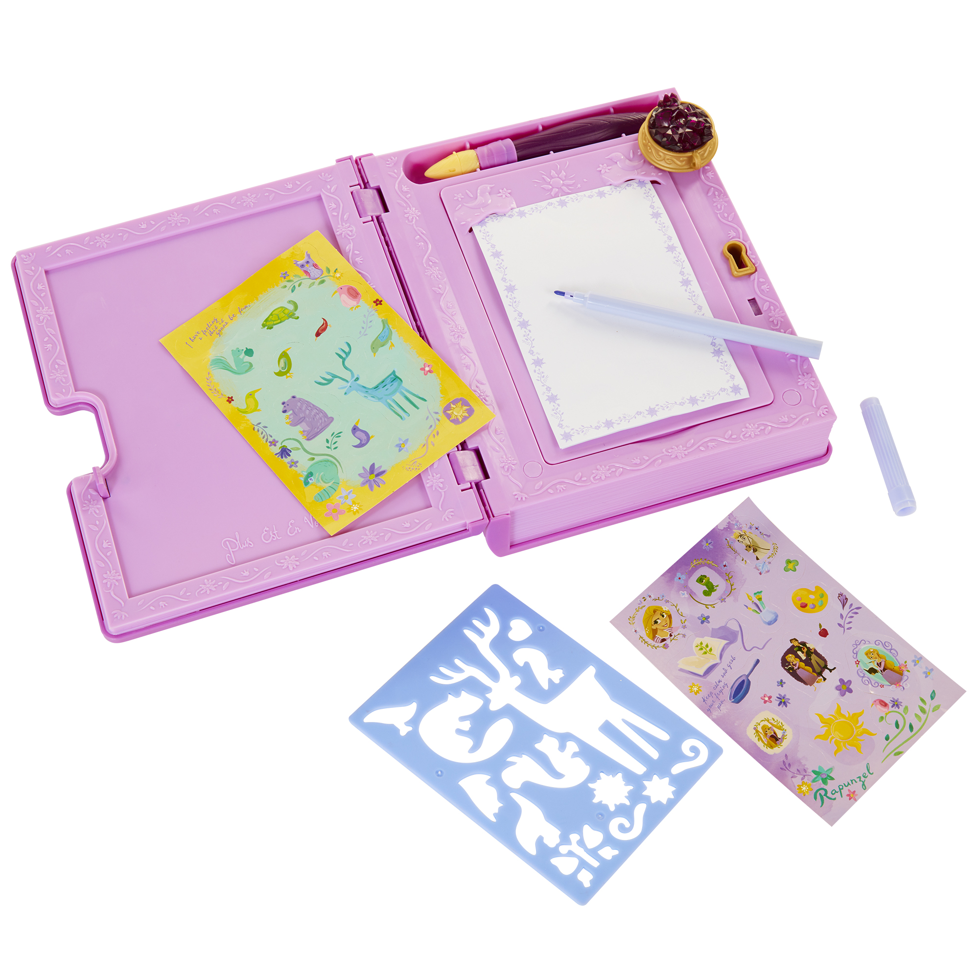 Rapunzel Secret Journal Disney Princess