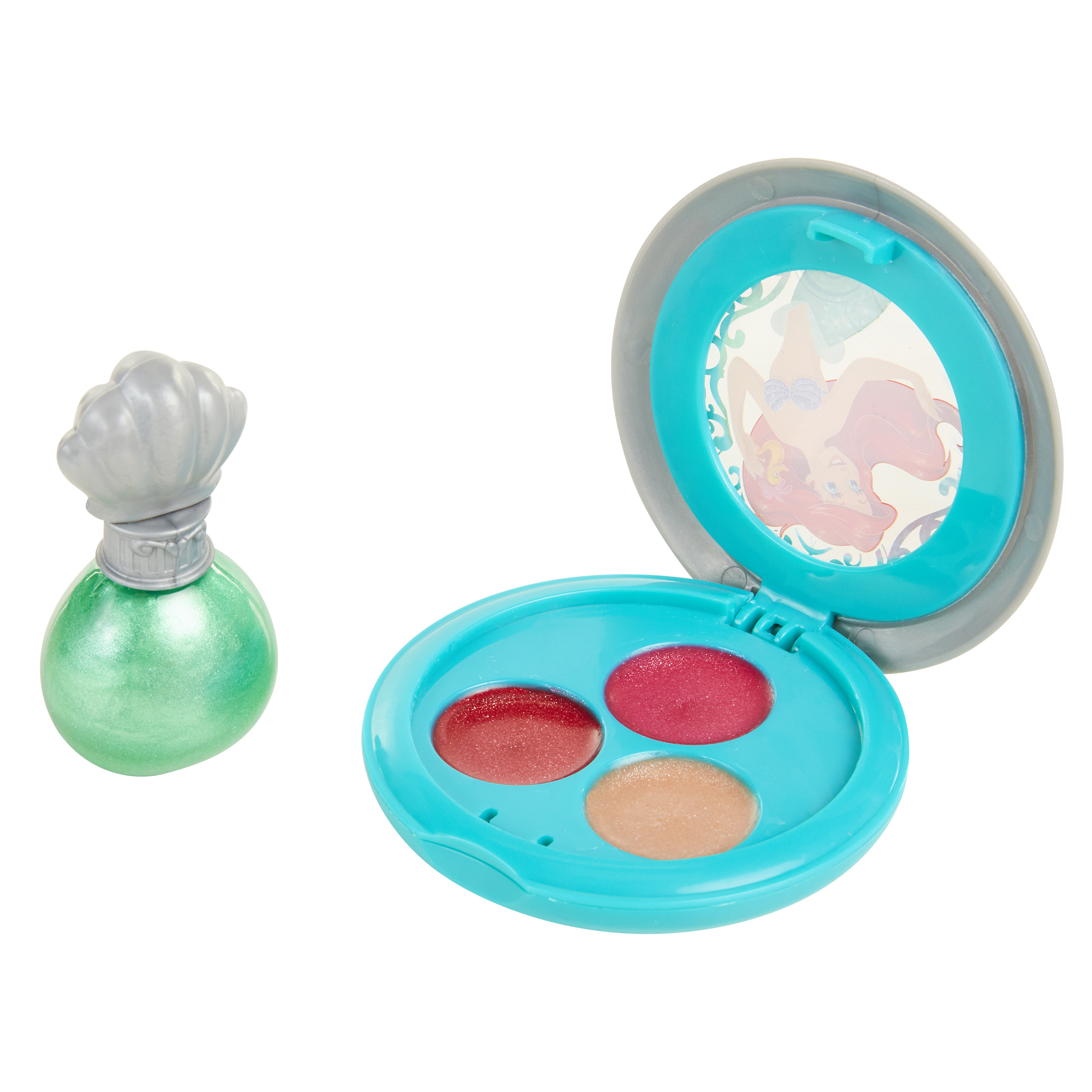 Ariel Nail Polish and Lip Shimmer Compact Disney Princess