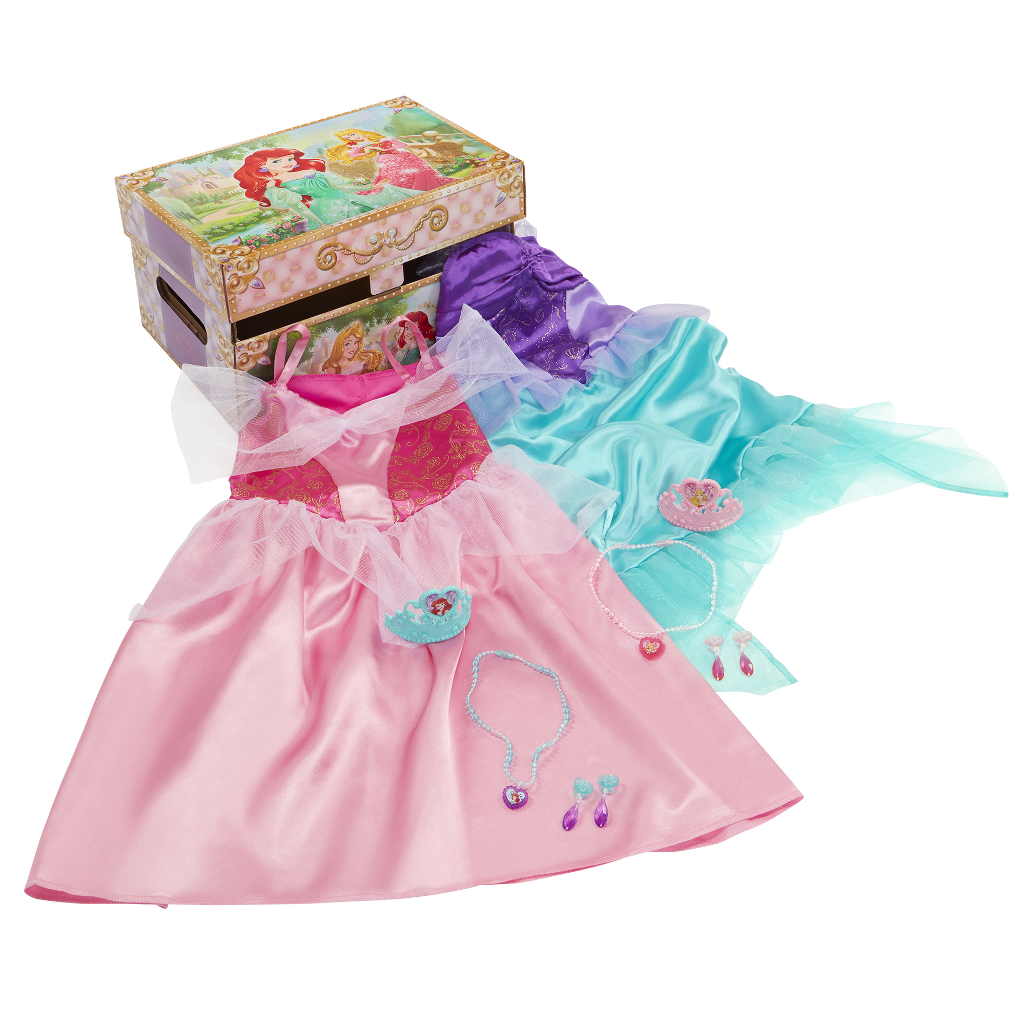 Ariel and Aurora Dress Up Trunk Disney Princess