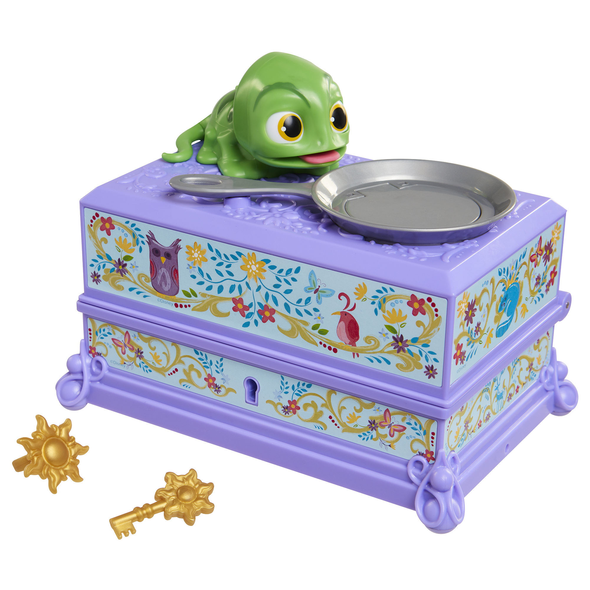 Pascal Jewelry Box Disney Princess