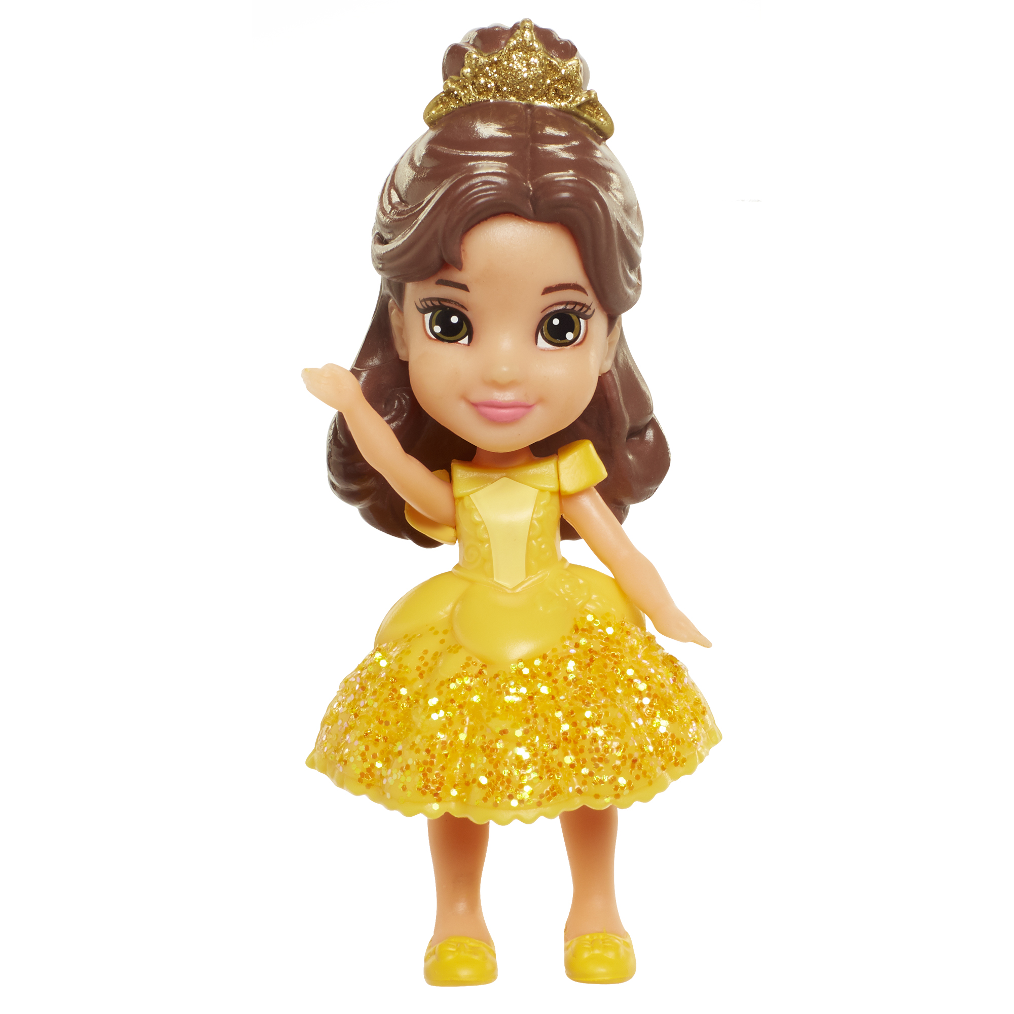 Belle 3 inch Mini Doll (Yellow Dress) Disney Princess