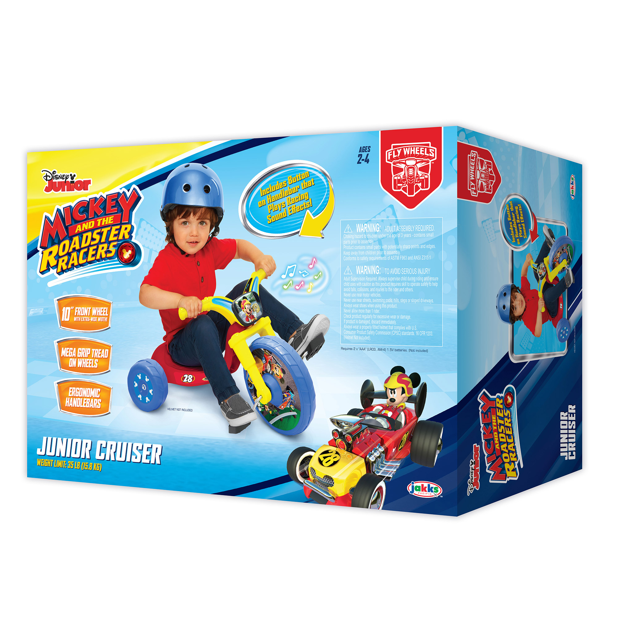 Fly Wheels Mickey Mouse Roadster Racers