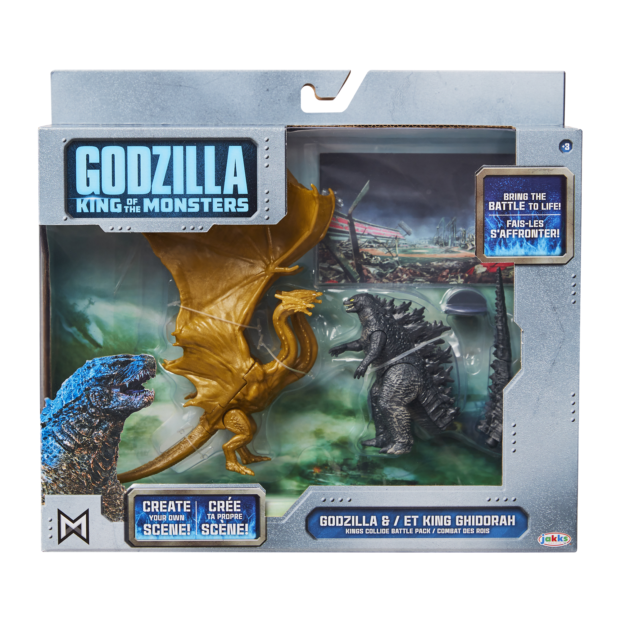 Godzilla: King of the Monsters 3.5 Monster Matchups King Ghidorah/Godzilla