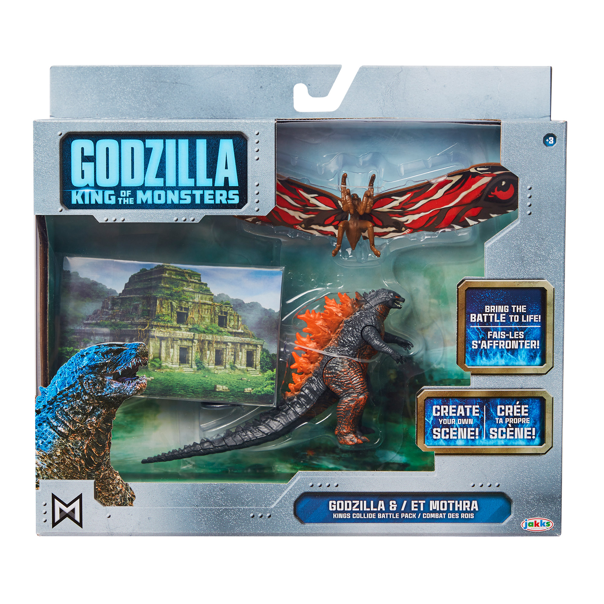 Godzilla: King of the Monsters 3.5 Monster Matchups Fire Godzilla/Mothra