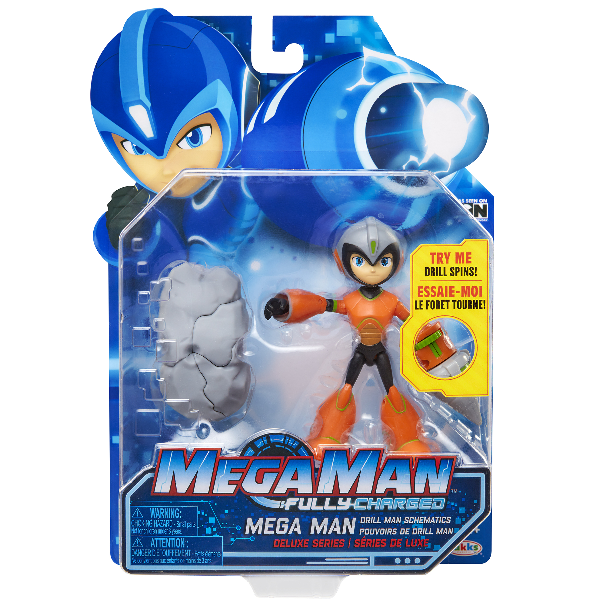 Deluxe 5 Mega Man with Drill Power
