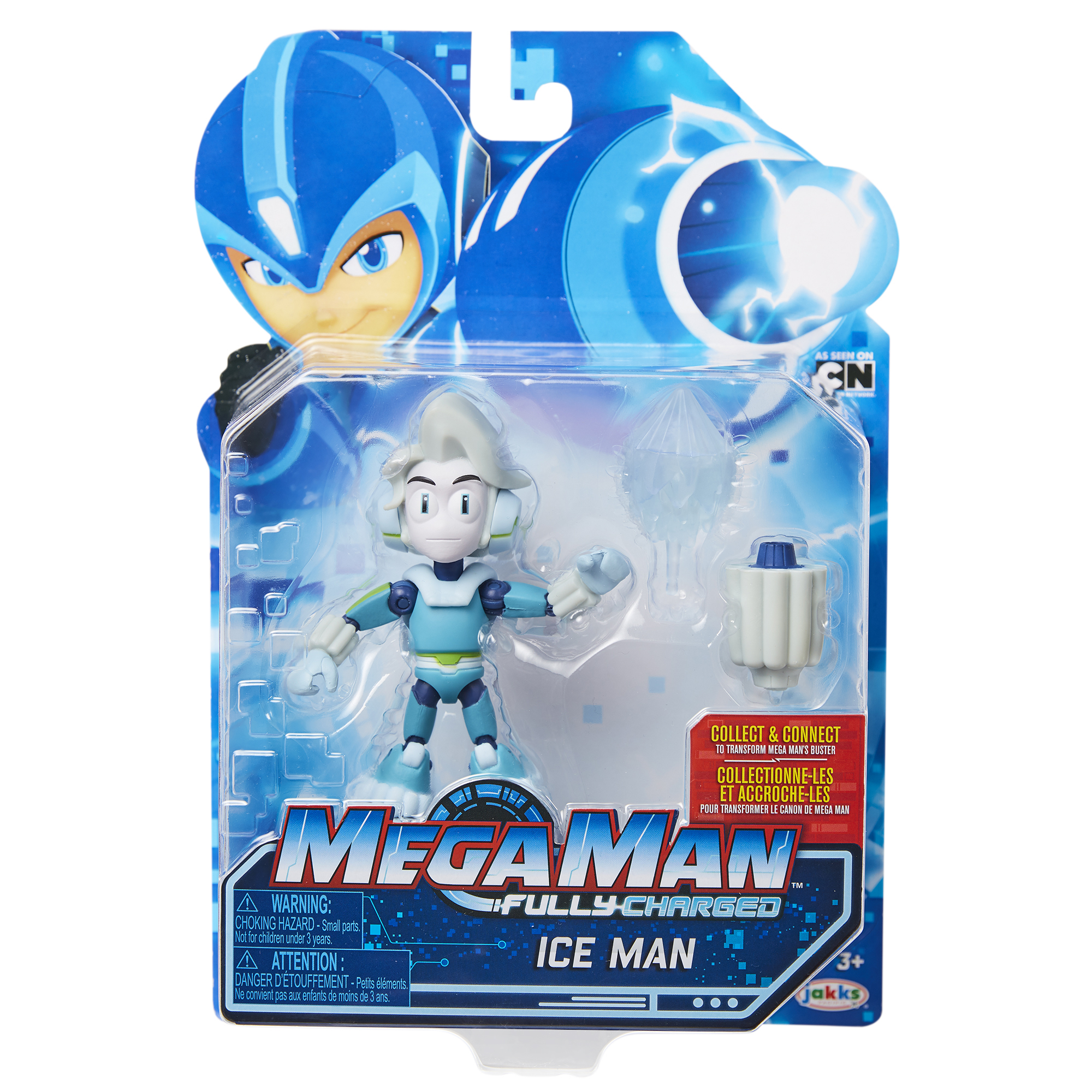 Mega Man 5 Ice Man with Cannon Accessory