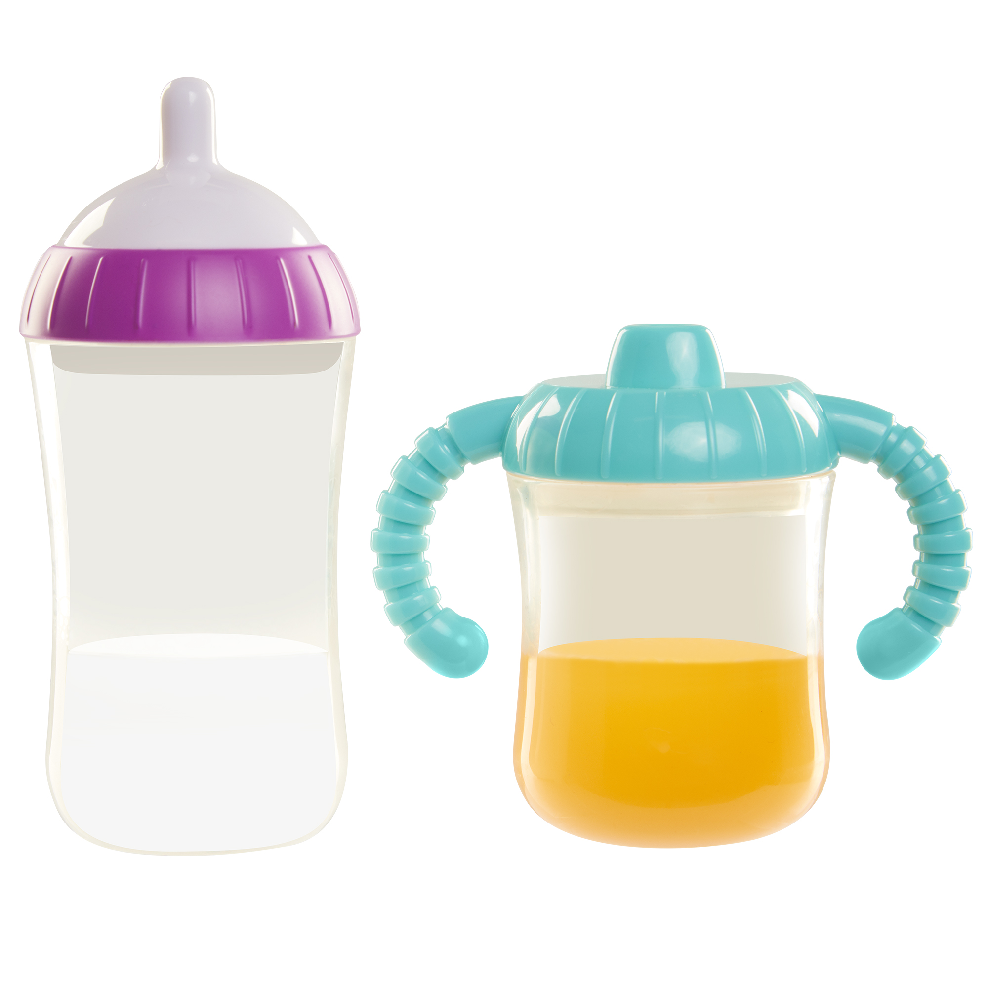Perfectly Cute Baby Doll Magic Disappearing Sippy Set