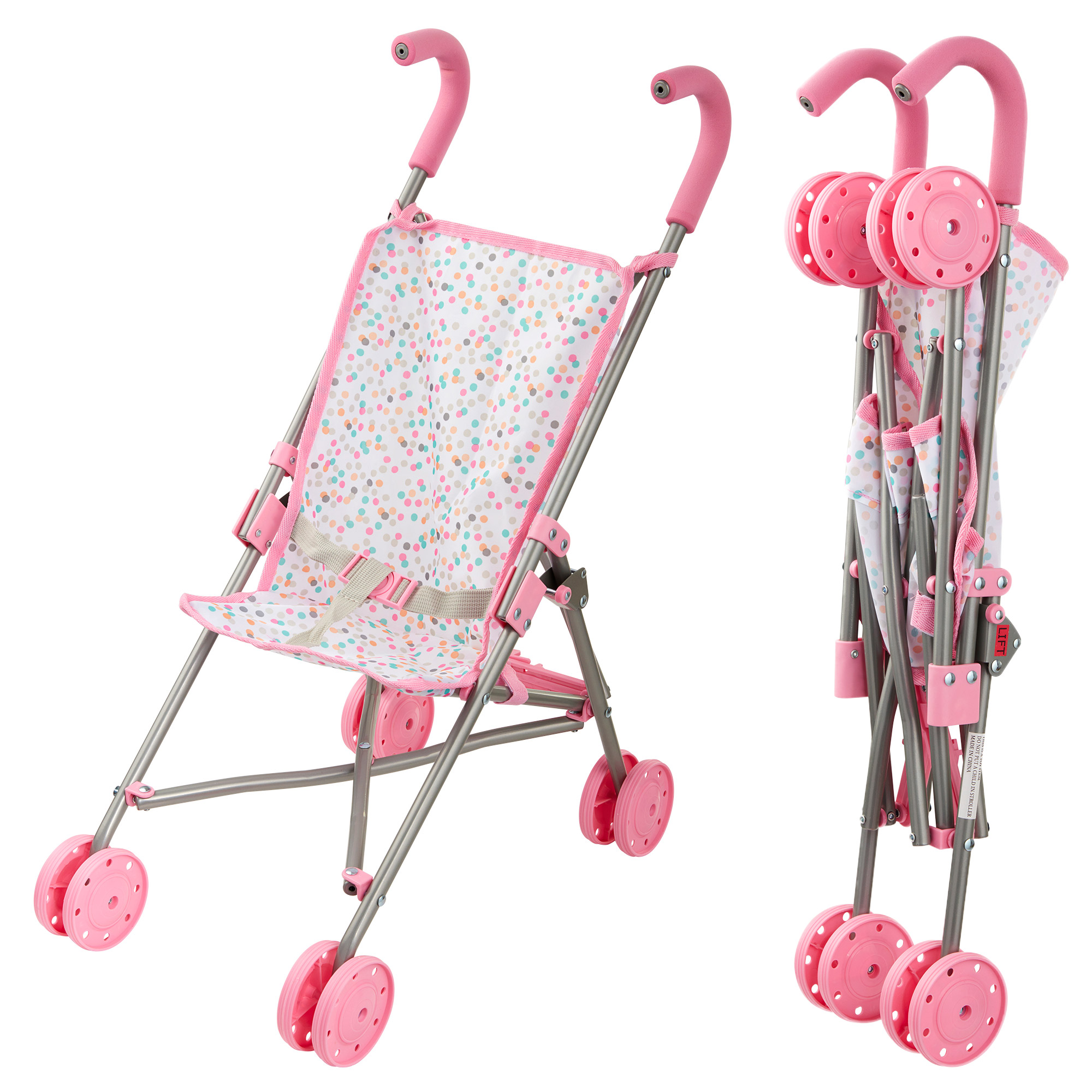 Perfectly Cute Baby Doll Fold-Up Stroller