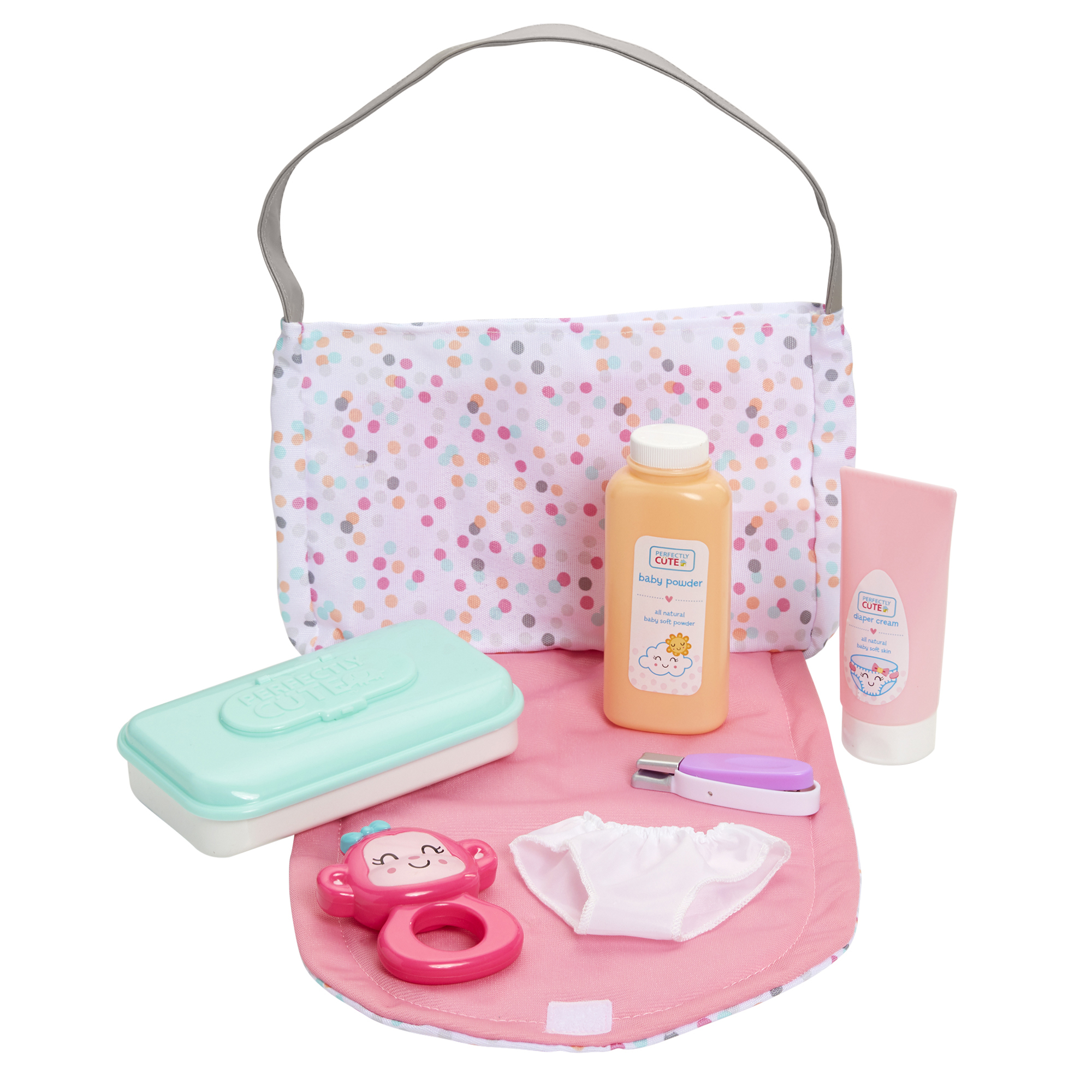 Perfectly Cute Baby Just Like Mommy Diaper Bag Set