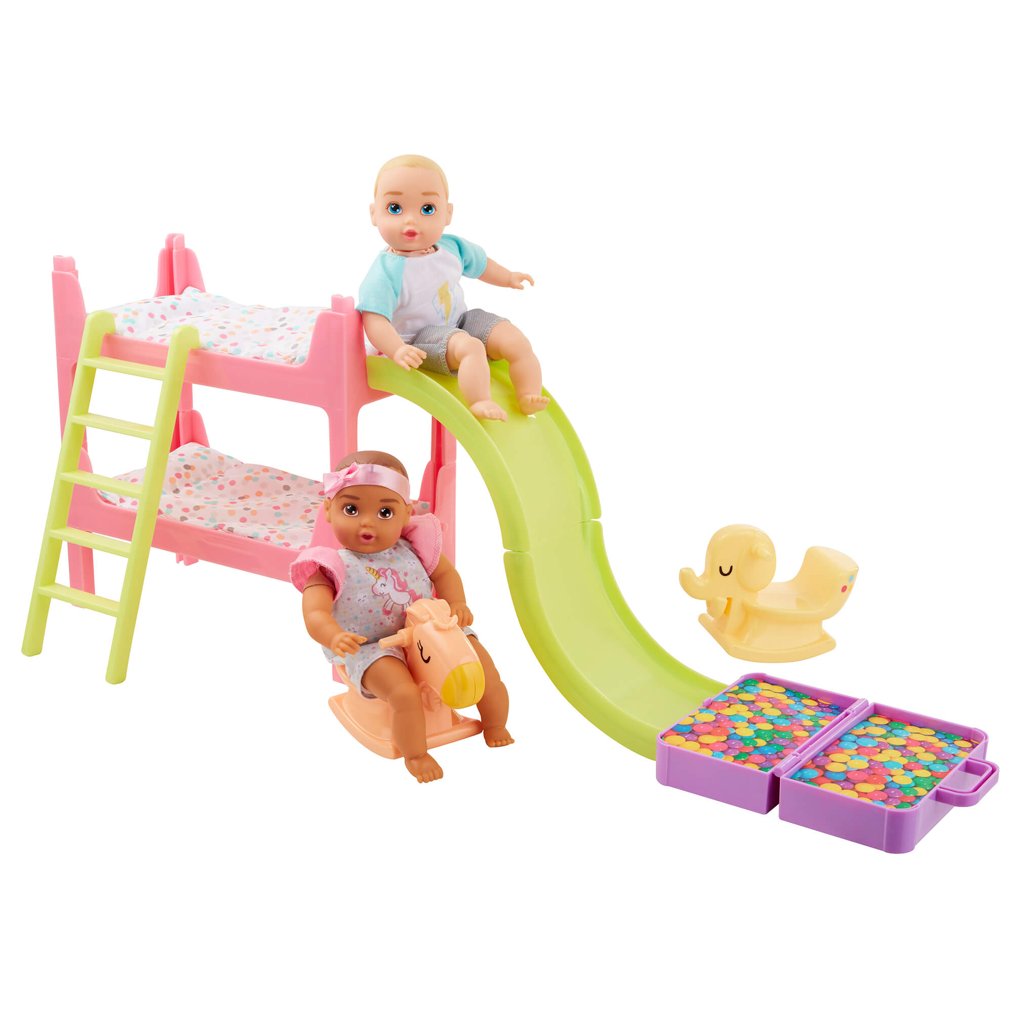 Perfectly Cute Baby My Lil' Baby Bunk Bed Playroom Playset