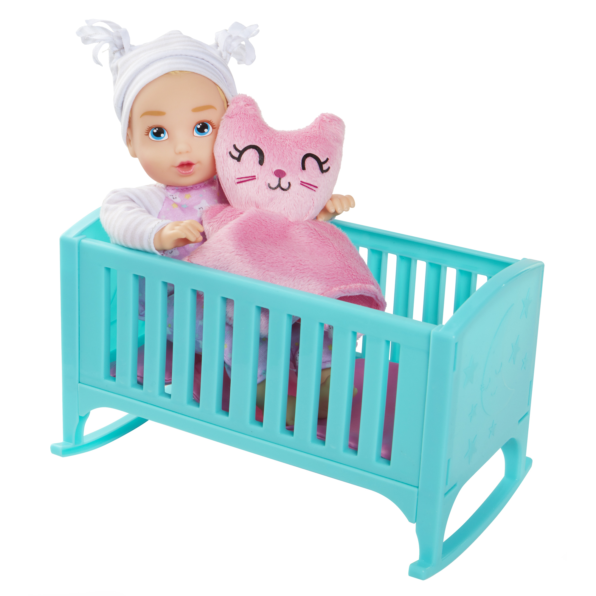 Perfectly Cute Baby Night Night Playset With 8 inch My Lil Baby Girl Doll