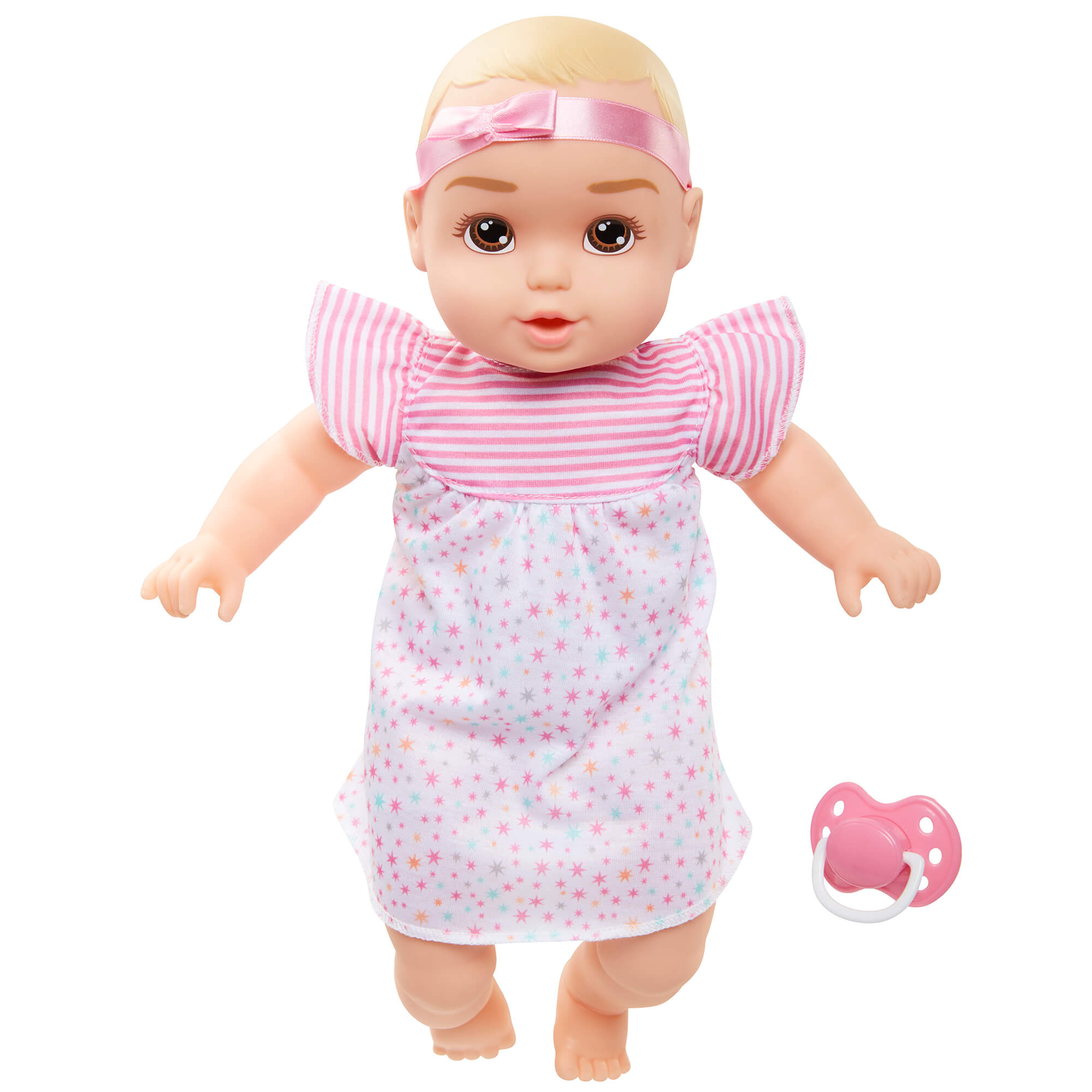 Perfectly Cute Baby 14 inch My Sweet Baby Girl Doll (Blonde - Brown Eyes)