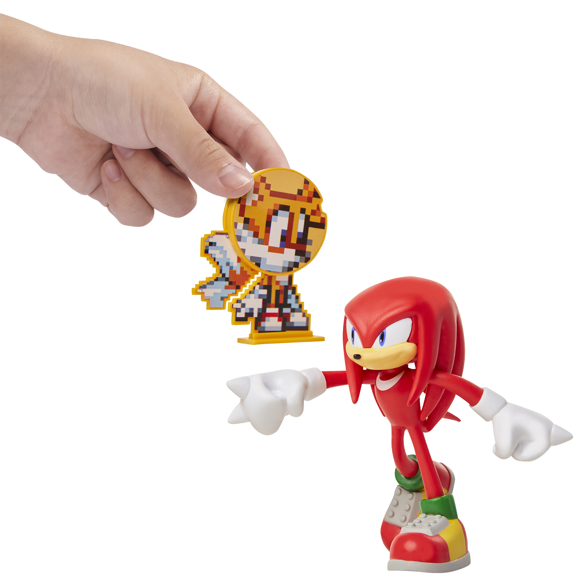Sonic the Hedgehog - 4in Bendable Action Figures w/ accessory Wave 1 - Knuckles