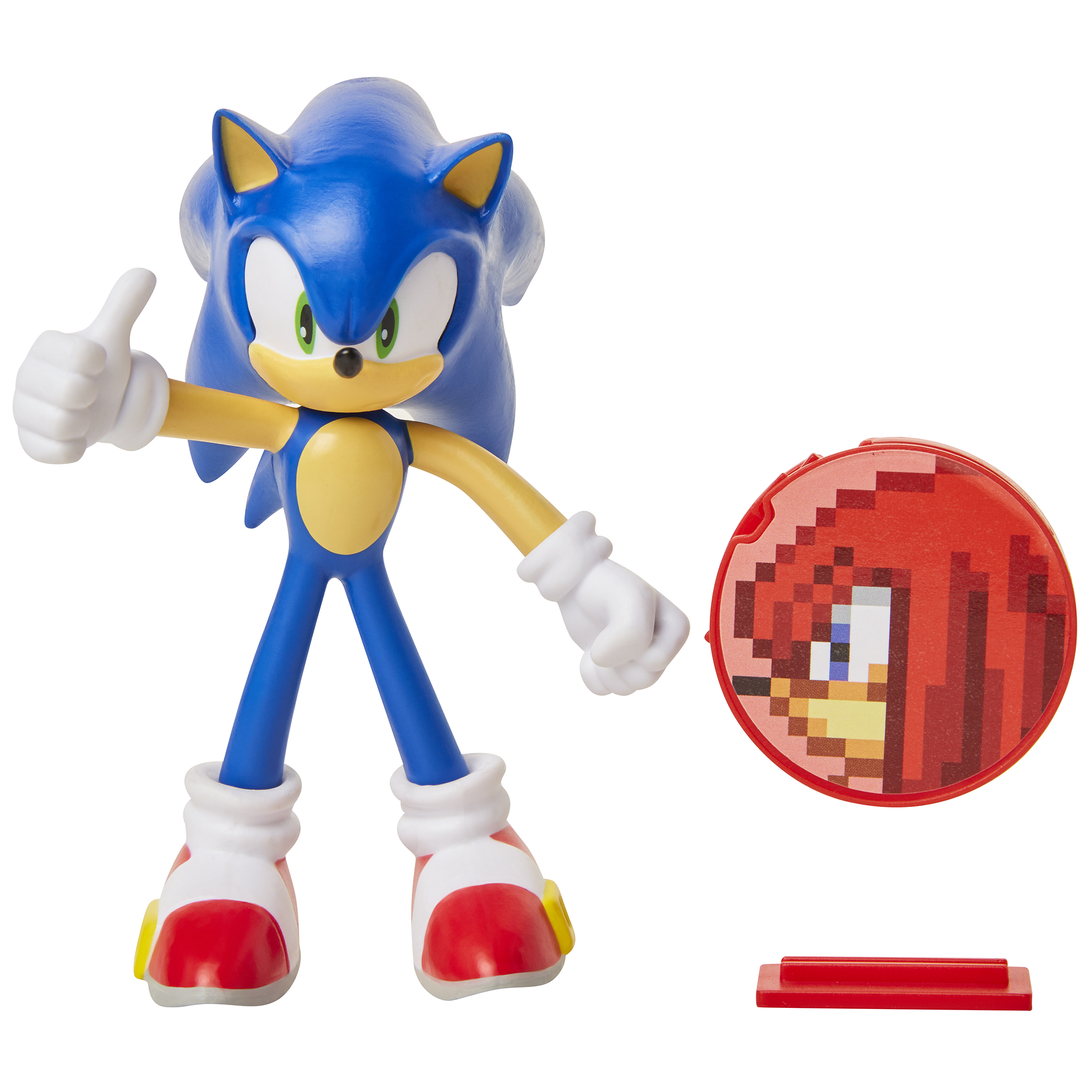 Sonic the Hedgehog - 4in Bendable Action Figures w/ accessory Wave 1 - Sonic