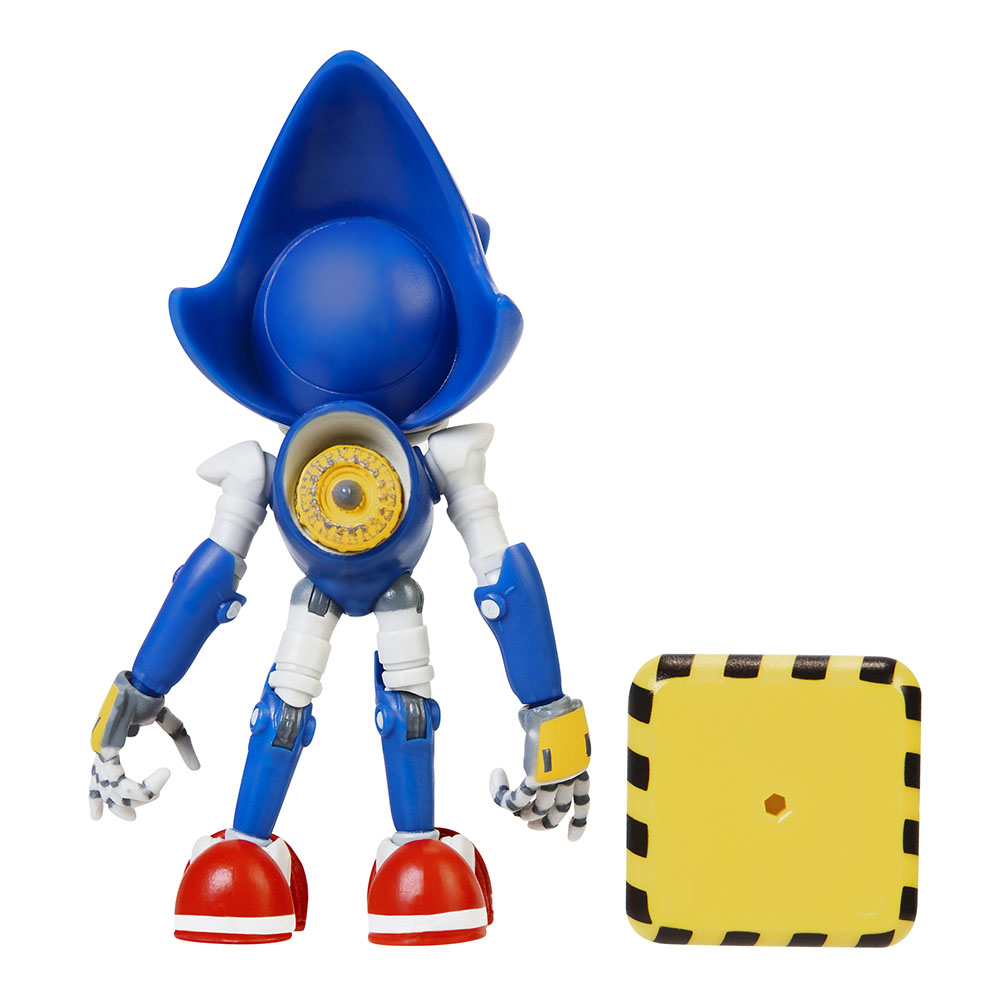 Sonic the Hedgehog - 4in Articulated Figures w/ accessory Wave 2 - Metal Sonic