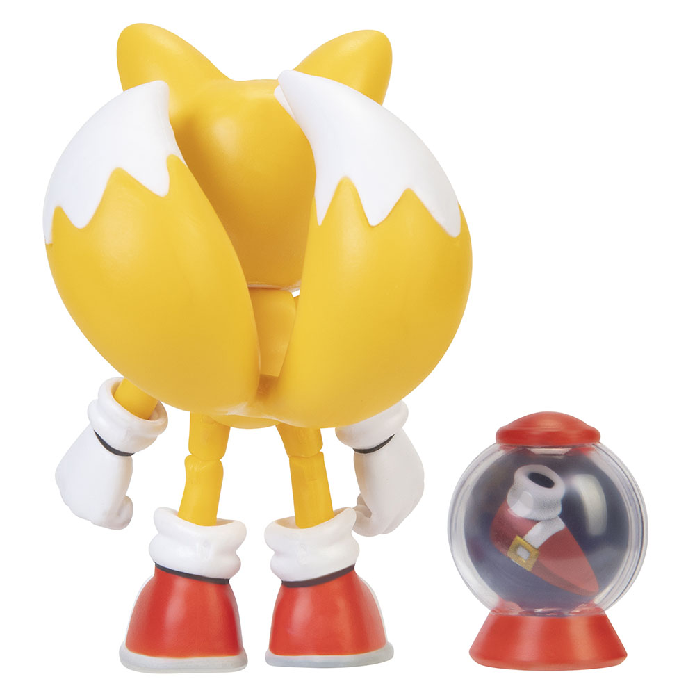 Sonic the Hedgehog - 4in Articulated Figures w/ accessory Wave 2 - Tails