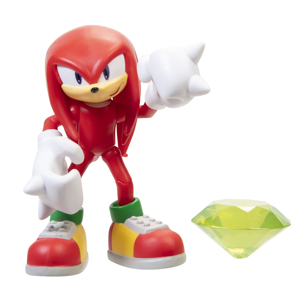 Sonic the Hedgehog - 4in Articulated Figures w/ accessory Wave 2 - Knuckles