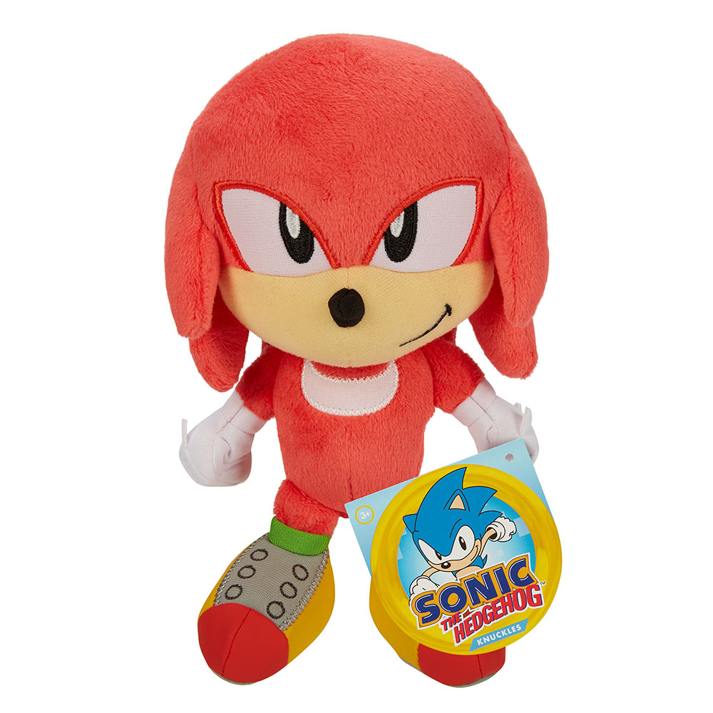 Sonic the Hedgehog - 7in Basic Plush - Knuckles