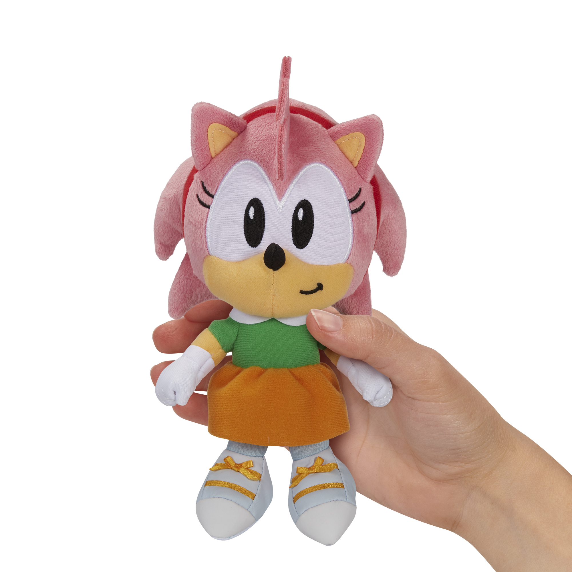 Sonic the Hedgehog - 7in Basic Plush - Amy
