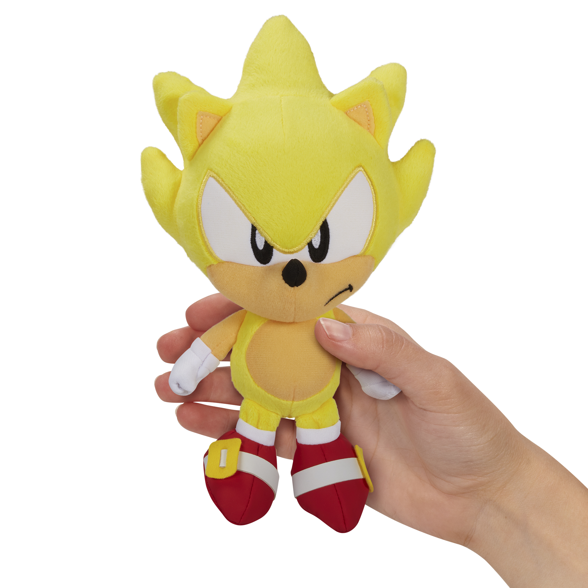 Sonic the Hedgehog - 7in Basic Plush - Super Sonic