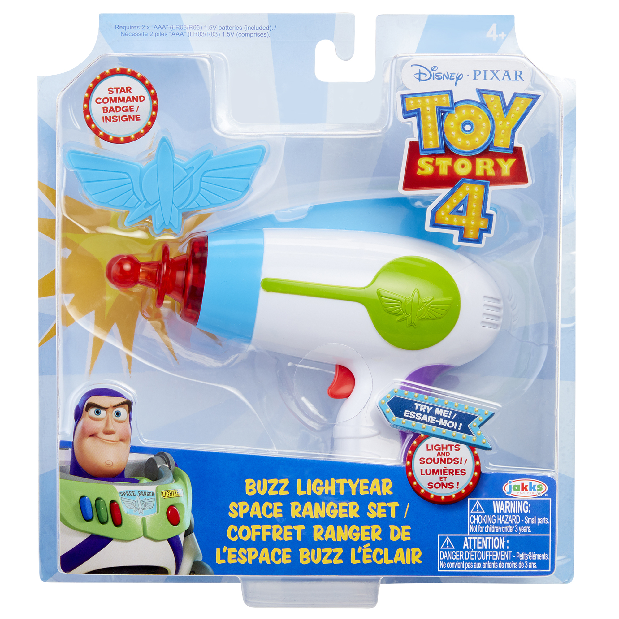 Toy Story 4 Buzz Lightyear Space Ranger Set