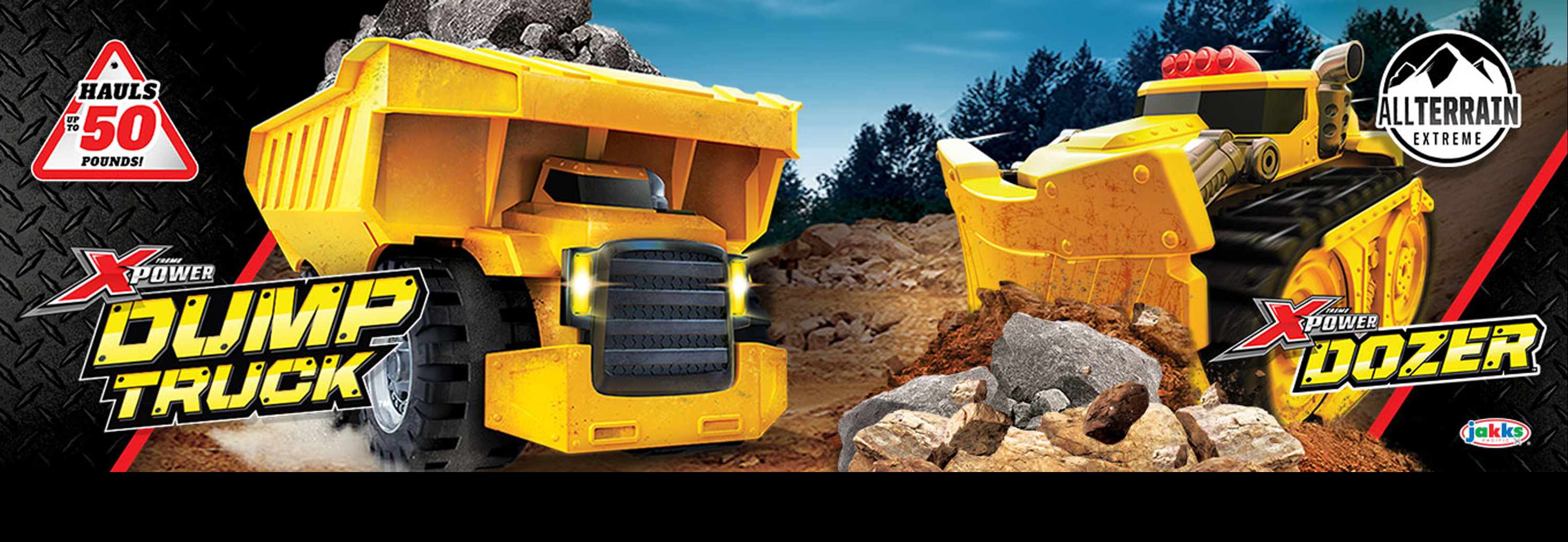 Xtreme Power Dozer and Dumptruck