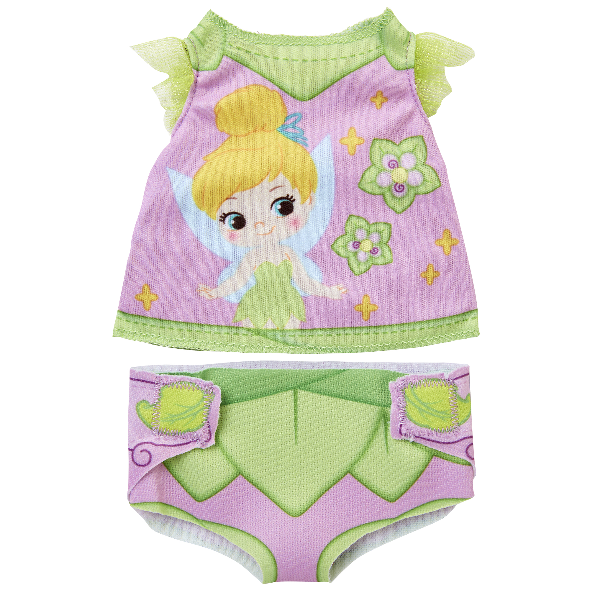 Tinker Bell Diaper Dress Up Doll Accessory Pack