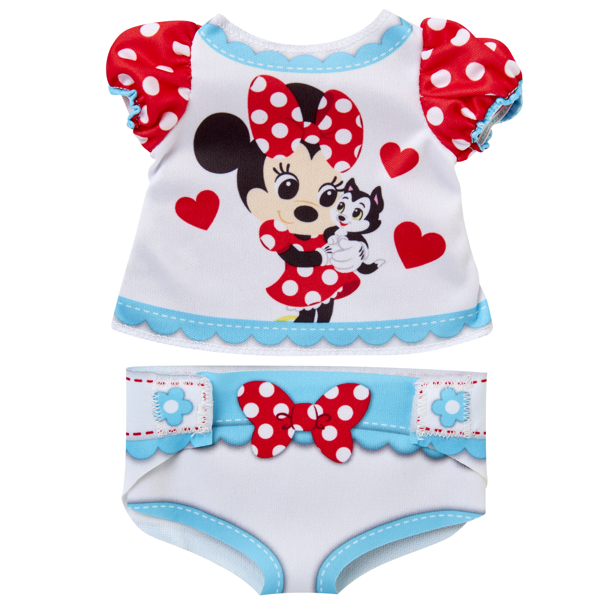 Minnie Mouse Diaper Dress Up Doll Accessory Pack