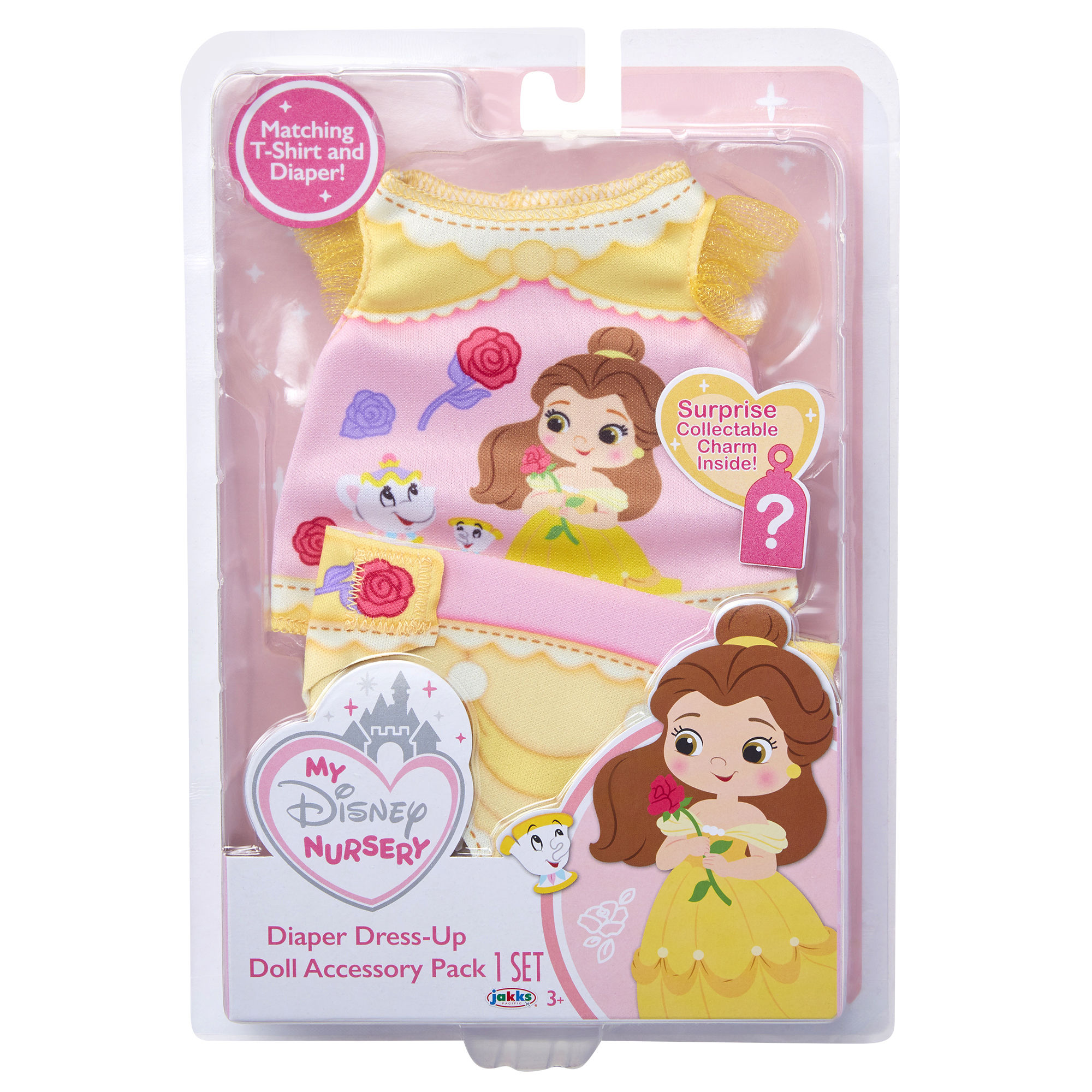 Belle Diaper Dress Up Doll Accessory Pack