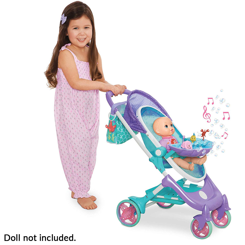 Musical Bubble Doll Stroller